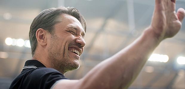 Lächender Abgang: Niko Kovac. Foto: dpa.