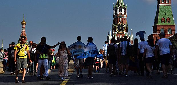 Symbolbild: Moskau. Foto: AFP